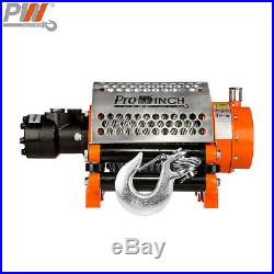 ProWinch Hydraulic Winch Incorporated Roller 20000 lbs. Heavy Duty 24V Wired/