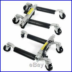 Pro Go Under Car Jack Lift Heavy Duty Hydraulic Car Dolly Set of 4pc 1500LBS