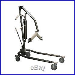 Proactive Onyx Hydraulic Patient Lift Heavy Duty for Home Use, 450lbs Capacity