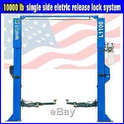 QYSE 10,000lb Capacity Car Lift L1100 2 Post Lift Car Auto Truck Hoist Overhead