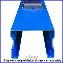 QYSE 10,000lb L1000 Two Post Lift Car Auto Truck Hoist Single Side Safety Unlock