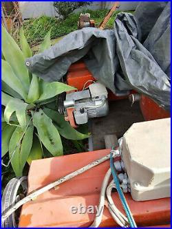 RAV Heavy Duty Twin Post Electric Lift