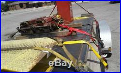 Snap On WheelTronics 12000 pound scissor alignment lift with rolling jacks