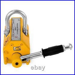 TOP 1000 KG Steel Magnetic Lifter Heavy Duty Crane Hoist Lifting Magnet 2200lb