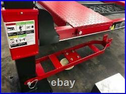 Triumph 10,000 LBS. Deluxe 4-Post Double Wide Auto Storage / Service Lift