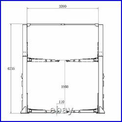 Two Post L1200L OverHead Auto Lift 12,000 lb. Capacity Truck Hoist