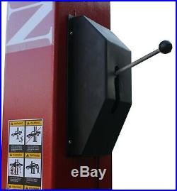 Two Post Lift 9,000 LB 2 Post Lift Car Auto Truck Hoist SINGLE POINT RELEASE