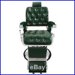 Vintage Styel Heavy Duty Barber Chair Hydraulic Recline Salon Beauty Equipment