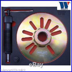 Werkzueg Heavy Duty 12 Ton Hydraulic Wheel Hub Puller LGV's Pro 1017-1