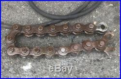 Wheeler Rex 3890 2-8 Hydraulic Pipe Cutter HEAVY DUTY ridgid rigid #2