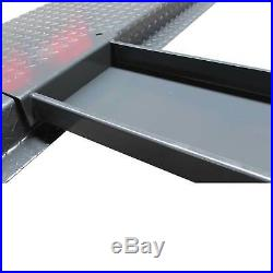 XK PP-8S 8000 LB 4-Post Heavy Duty Portable Storage Car Lift Auto Hoist 110V