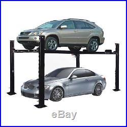XK PP-8S 8000 LB 4-Post Heavy Duty Portable Storage Car Lift Auto Hoist-Movable